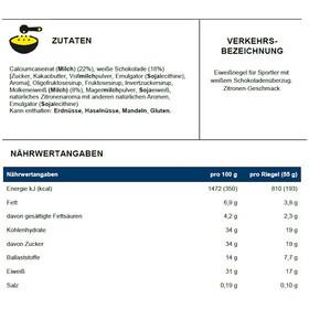 PowerBar ProteinPlus 30% Bar Box 15 x 55g Zitronen Käsekuchen